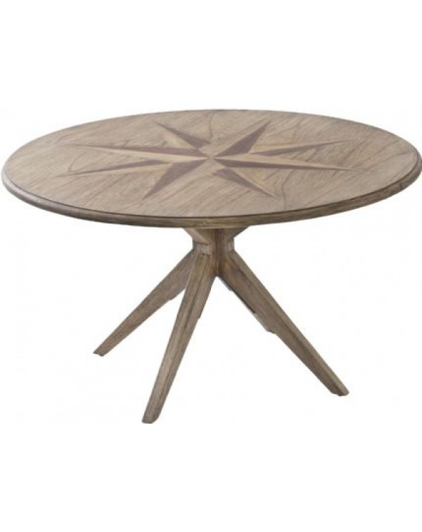 Libra Amerigo Mindi Wood Coffee Table